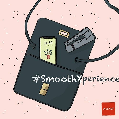 Zhiyun launched Smooth-X experience activity across social media